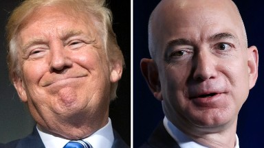 Trump vs. Amazon: So much for the businessman president