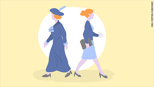 What women wore to work in 1912 vs. now (Hint: Not much has changed)