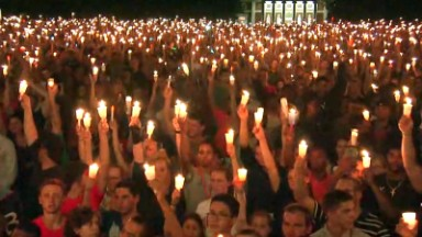 University of Virginia holds vigil
