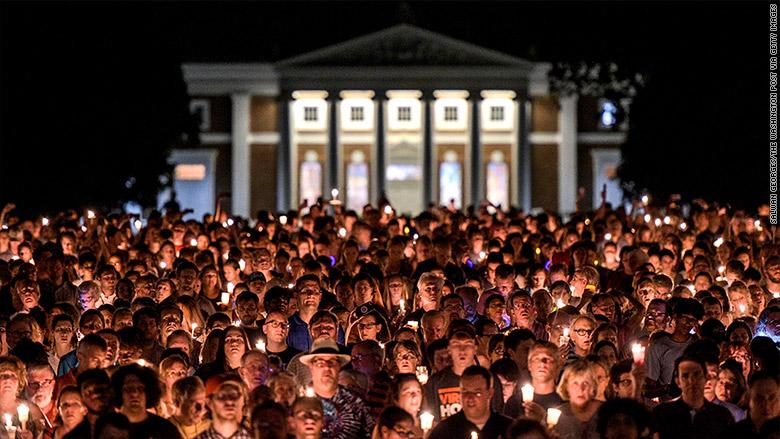 The social media blackout behind the UVa vigil