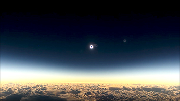 The best spot on Earth to watch the eclipse is in the sky
