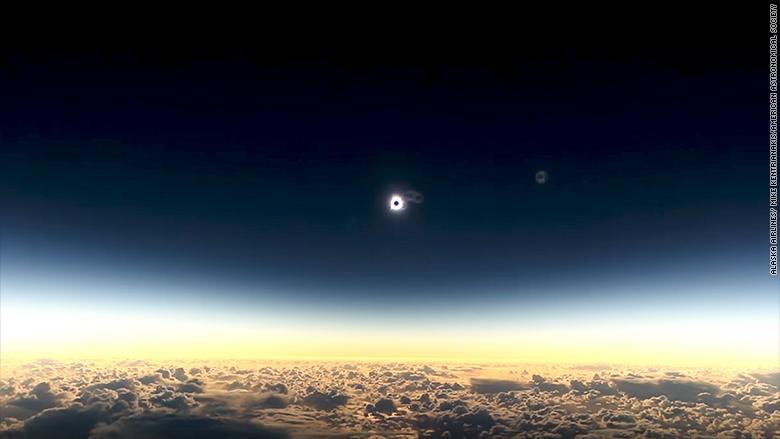 airborne eclipse alaska flight