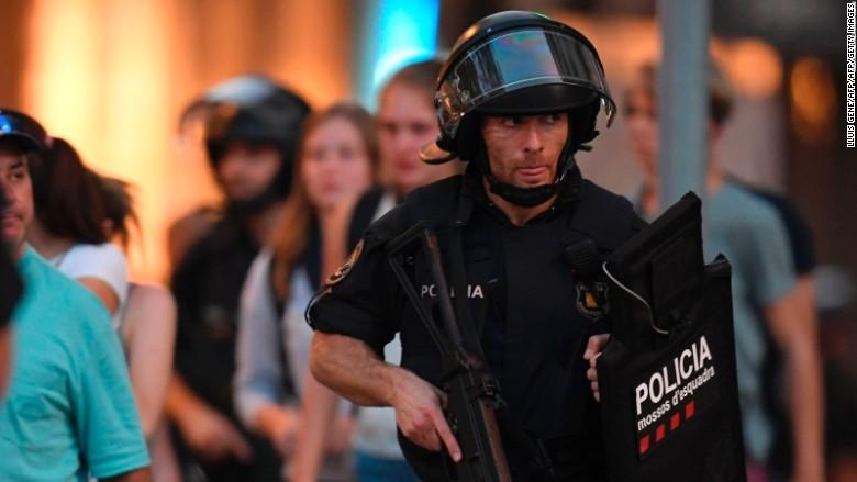 las ramblas police