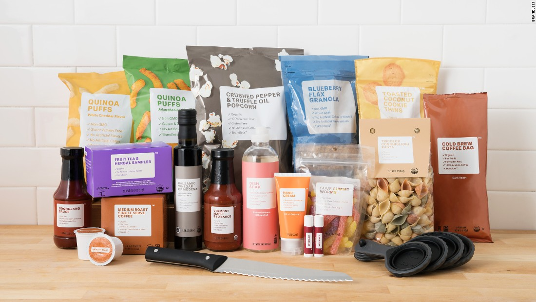 Online grocery store sells 'brand-free' products for $3 an item