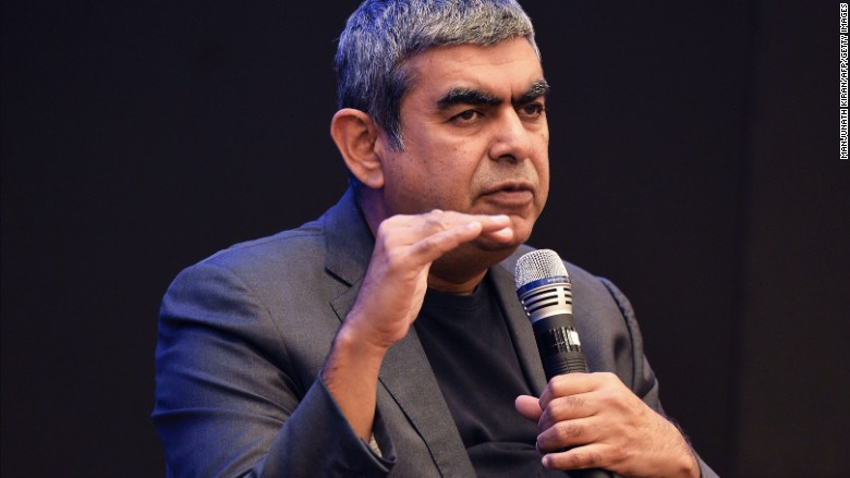 Infosys chief quits in rift with founders