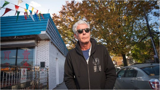 Bourdain: Eat the world in Queens