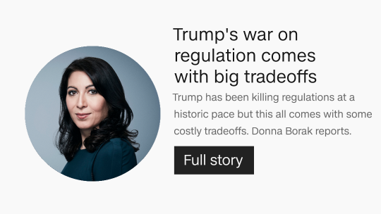 Trump's war on regulation