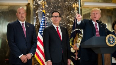 Mnuchin blames CEOs for walking away from Trump's business councils