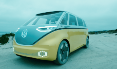 Far out: VW plans an electric hippie bus