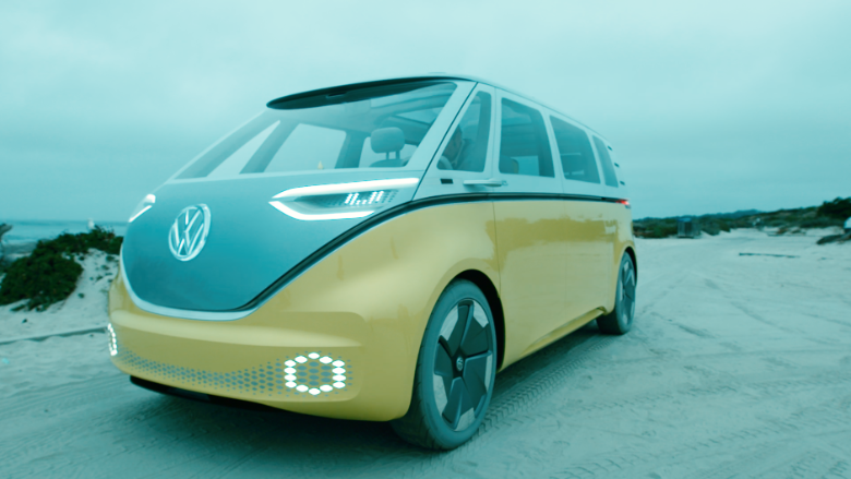 VW buzz concept car