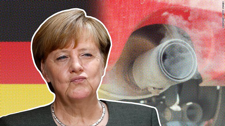 Angela Merkel: Germany could ban gas and diesel cars