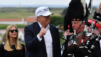 Trump's golf clubs in Scotland are losing millions