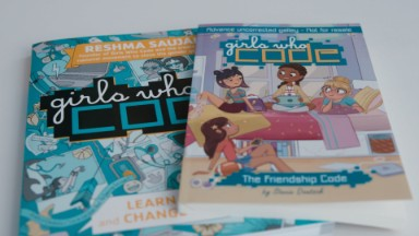 Girls Who Code books want to be the Baby-Sitters Club for this generation