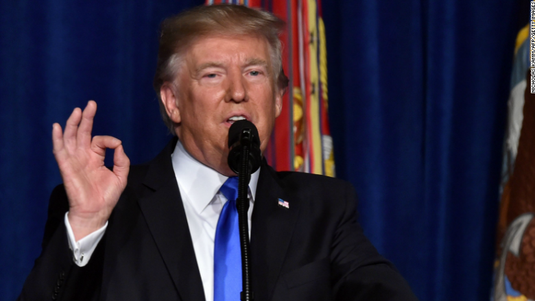 About 28 million TV viewers watched Trump's Afghanistan speech