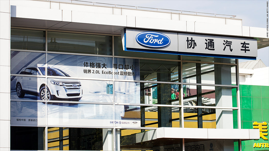 Ford will create new brand to make electric cars in China