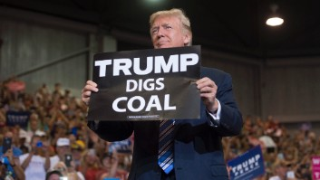Trump rejects cry for help from coal execs