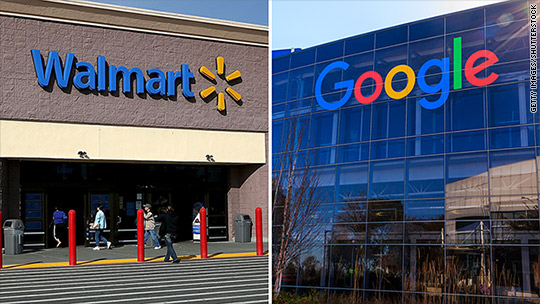 Walmart teams up with Google to fight Amazon