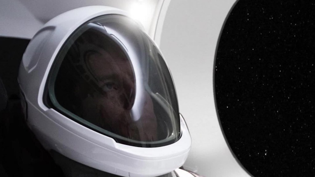 Elon Musk unveils SpaceX's new spacesuit