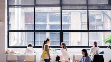 The rise of the female-focused co-working space