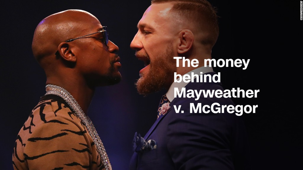 Mayweather v. McGregor: The money behind the fight