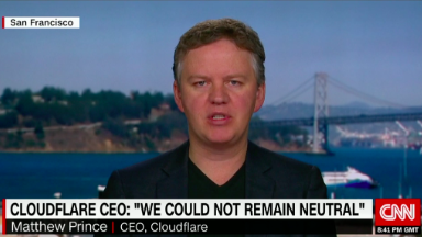 Cloudflare CEO questions his decision to terminate neo-Nazi website