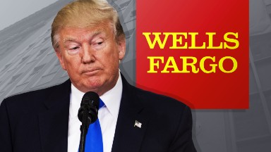 Trump vows to punish Wells Fargo for 'bad acts'