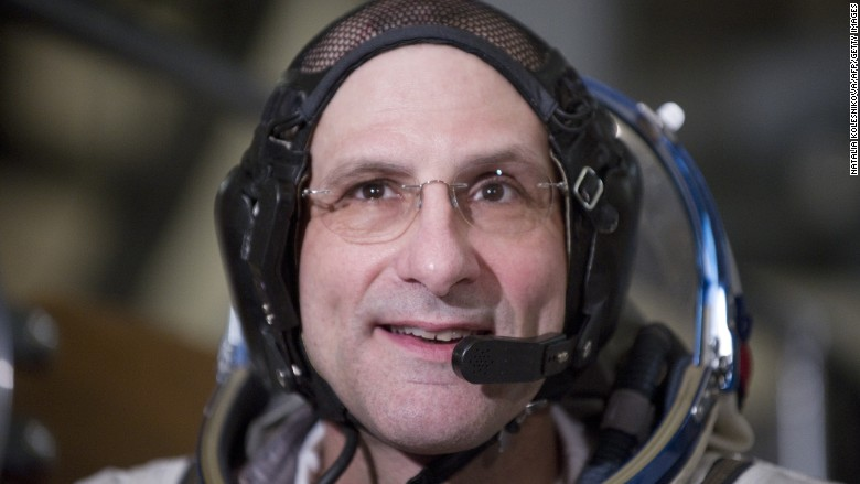 Astronaut Donald Pettit