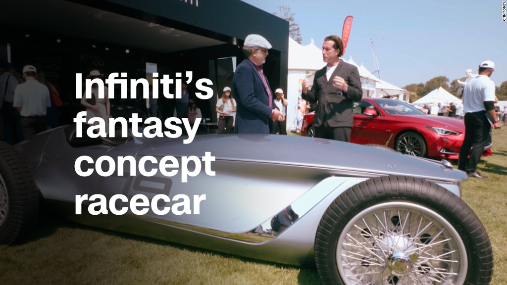 Infiniti's concept racecar silently screams 1930s