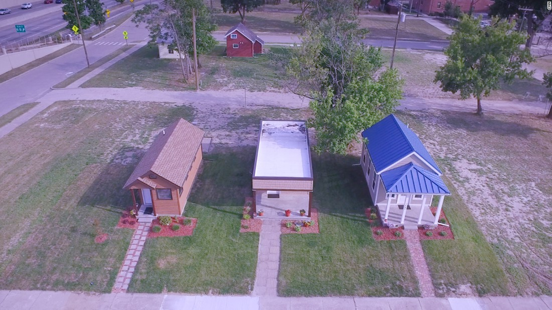 Detroit's tiny homes offer a big chance for struggling residents