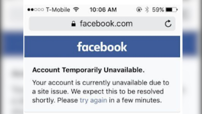 facebook instagram down