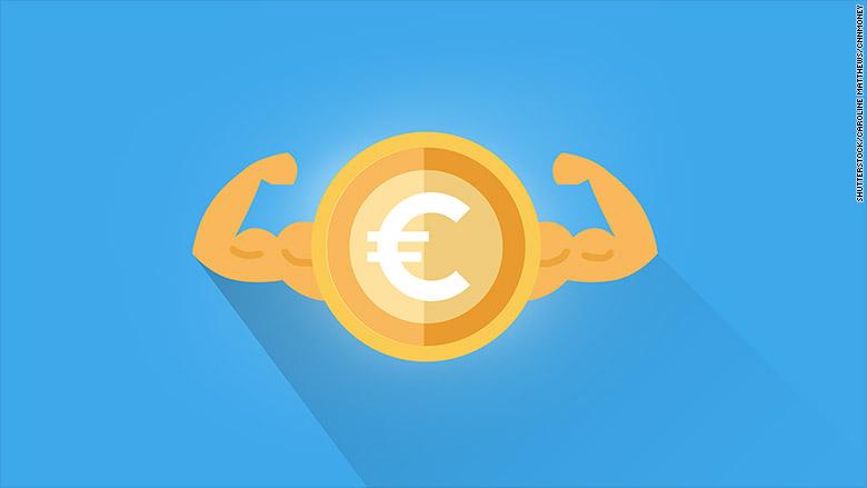 strong euro