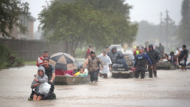 Journalists double as rescuers during Harvey