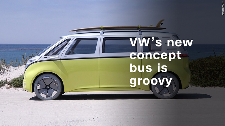Volkswagen S Electric Concept Bus Is Far Out Man Video