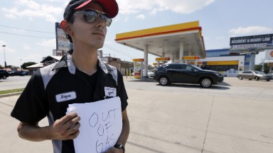 What can Trump do about gas prices after Harvey?