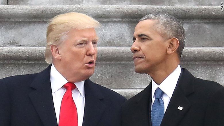 Employers added about 2 million jobs during Trump's first year in office, but that fell just short of Obama's record his final year in office.