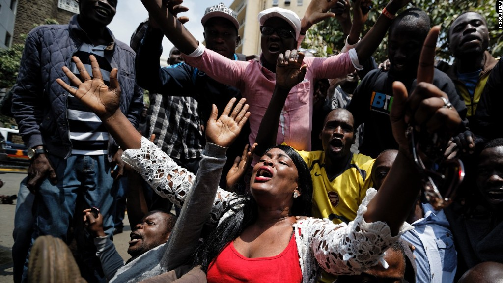 Celebrations in Kenya after new election announced