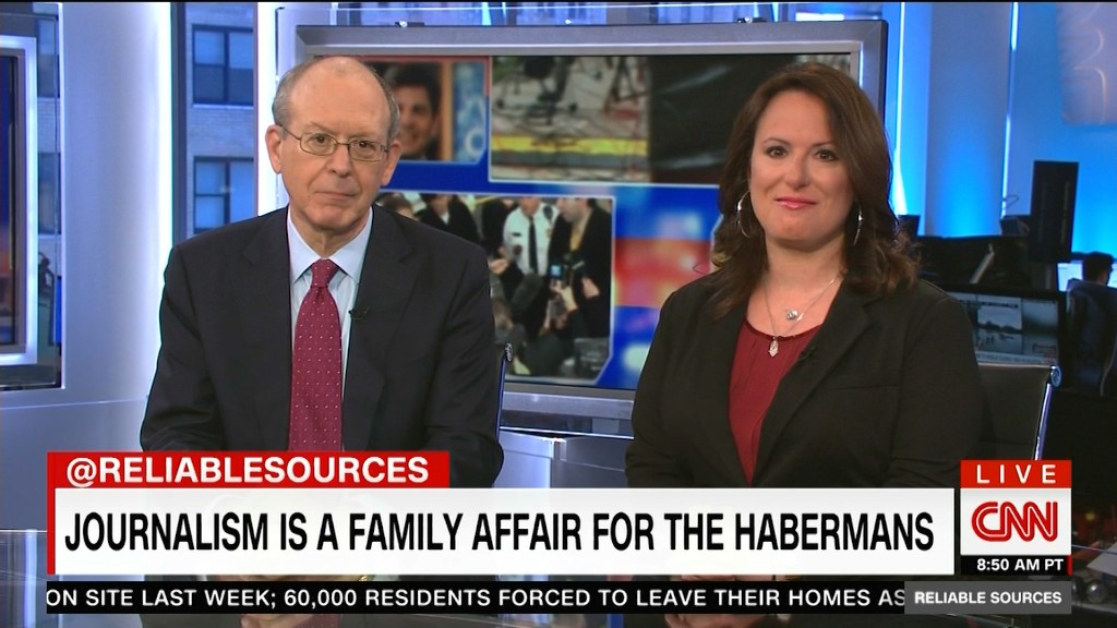 Journalism is a family affair for the Habermans
