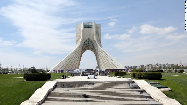 iran azadi tower