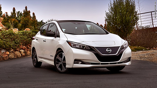 New Nissan Leaf goes farther for less