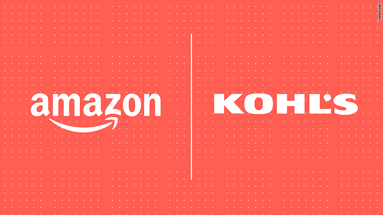 . Amazon shops to open inside some Kohl s stores   Sep  6  2017
