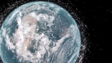 Scientists design a way to clean up space trash