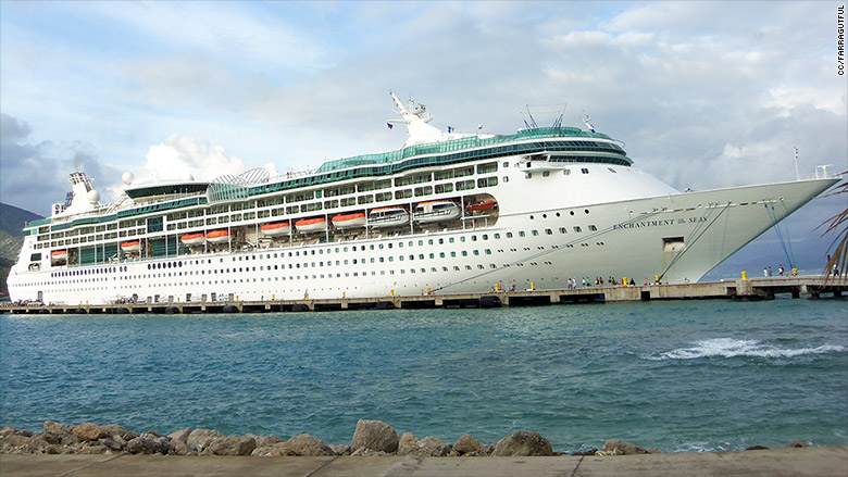 Royal Caribbean Using Its Own Cruise Ship To Evacuate Employees - Cruise ship trouble