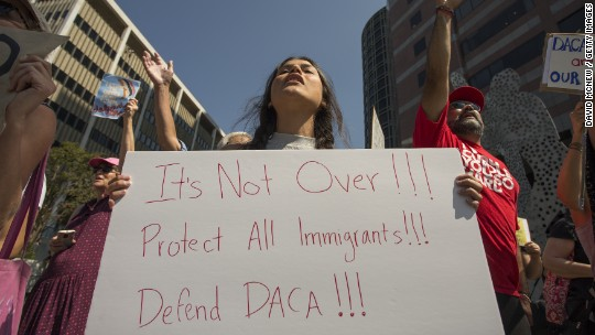 Who is covered by DACA?
