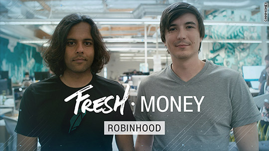Robinhood founders want everyone in stock market