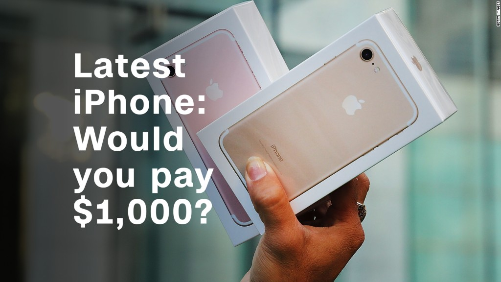 Would you pay $1,000 for the latest iPhone?