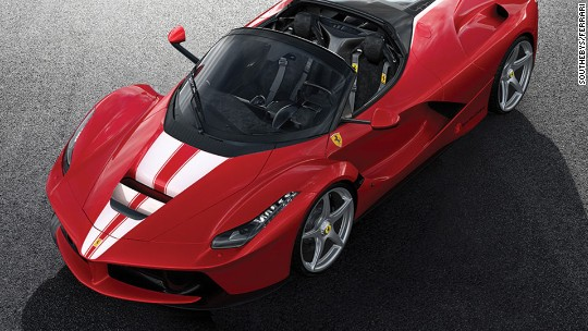 Ferrari sells for record $10 million at charity auction