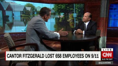 Hurricane relief from Cantor Fitzgerald in Sept. 11th tribute