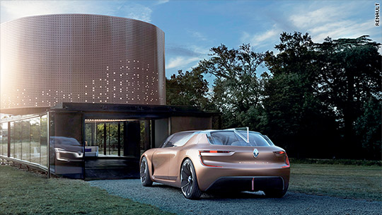Renault car becomes part of your house