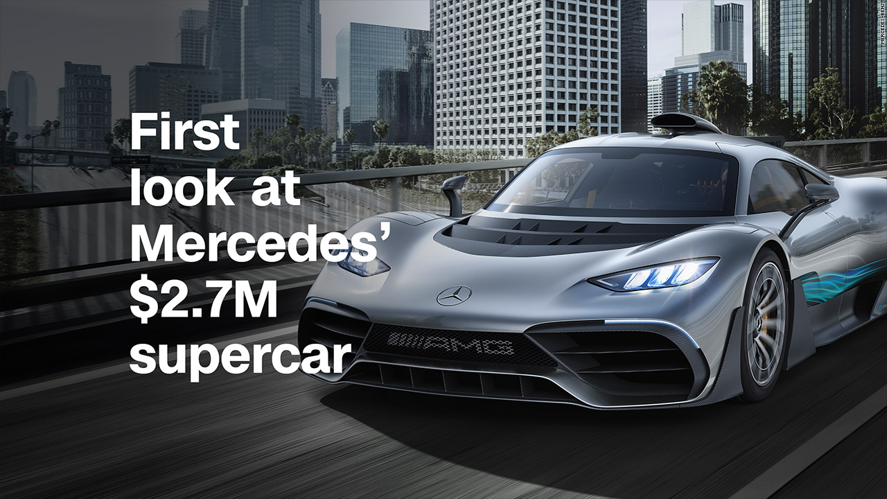 First Look At Mercedes Supercar Video Business News