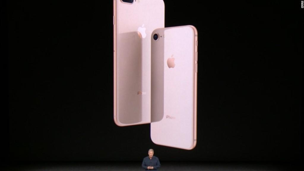 Apple's new iPhone 8, iPhone 8 Plus in :90